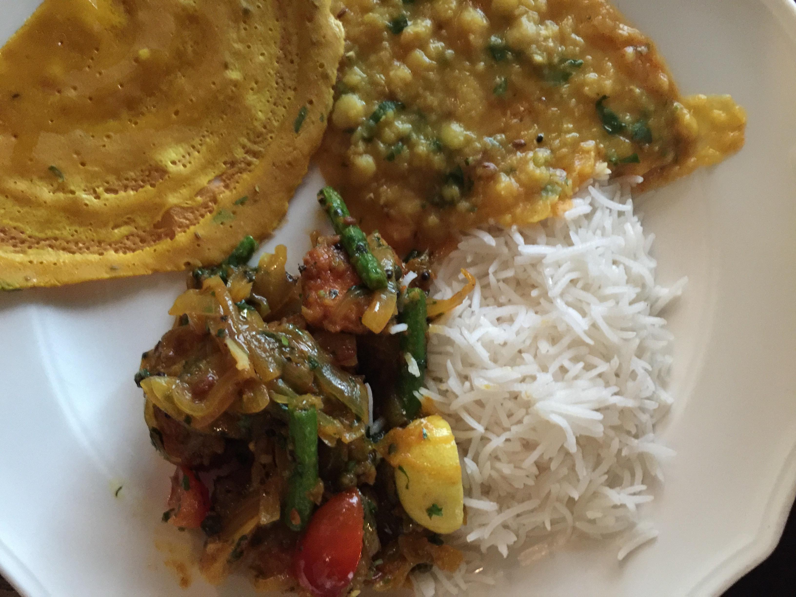 Jag är inte speciellt förtjust i indisk mat. Mina favoritkök är det svenska och det italienska, Asien kommer längre ner på listan. Men jag lever med en man som tycker indiskt är fantastiskt, så...