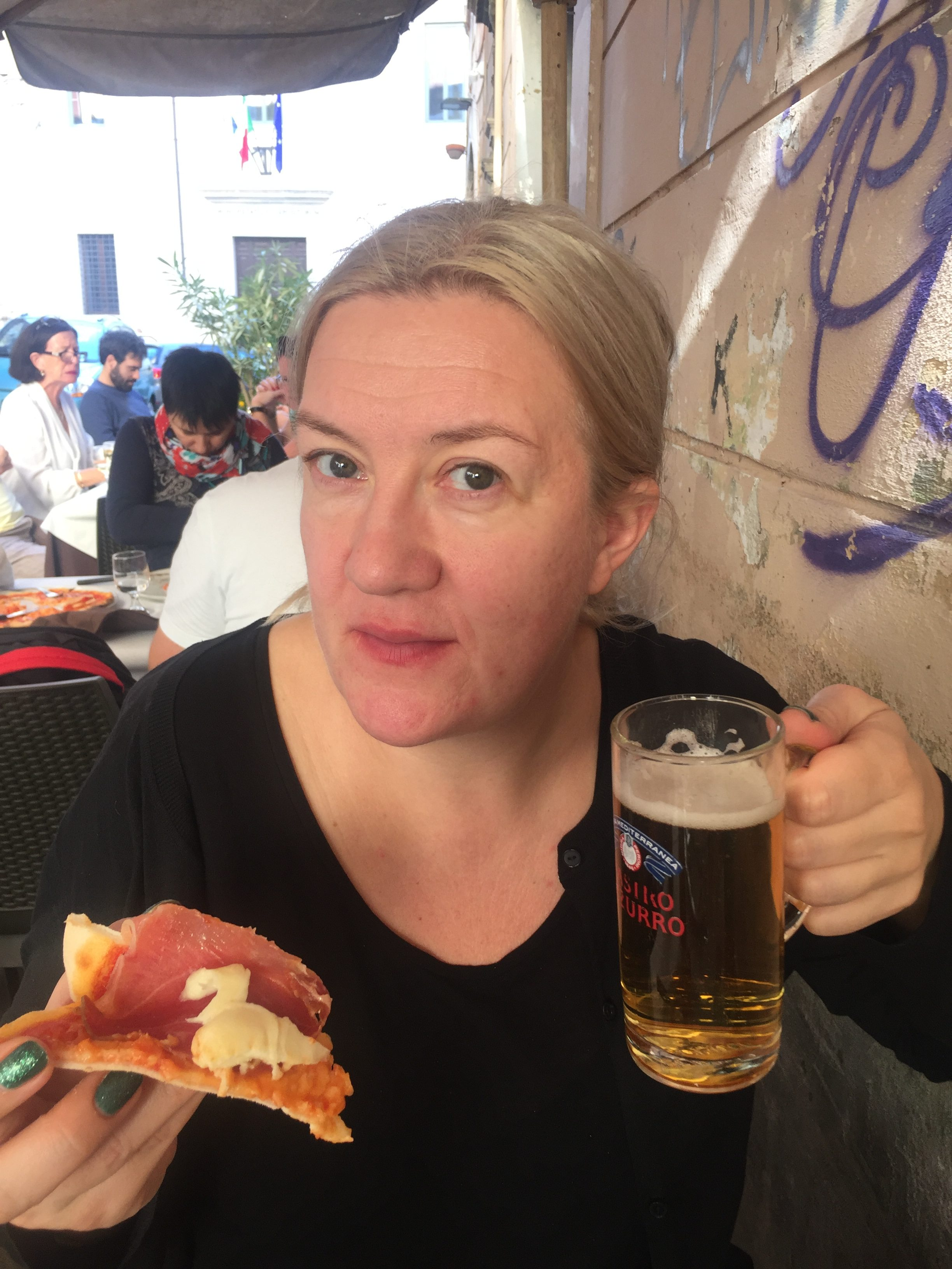 Jakten på riktig god glutenfri mat går vidare, och jag har goda nyheter för den som ska till Rom!   Jag har varit i Rom igen. Den här gången lyckades jag inte bara äta fantastisk pasta...